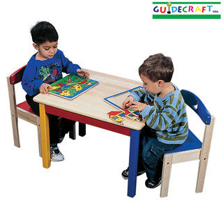 Moon and Star Table and Chair Set - Guidecraft - eBeanstalk