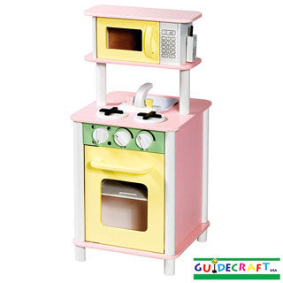 Pastel Kitchenette - Guidecraft - eBeanstalk