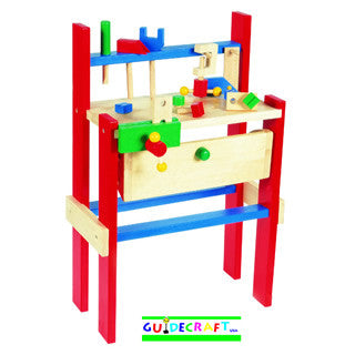 Wooden Work Bench - Guidecraft - eBeanstalk
