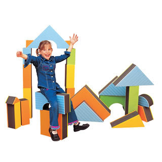 Jumbo Textured Blocks - Edushape - eBeanstalk