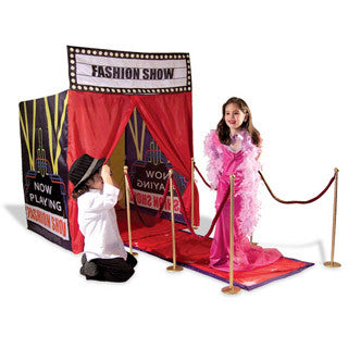Red Carpet Runway Play Tent - Kids Adventure Play Tents - eBeanstalk