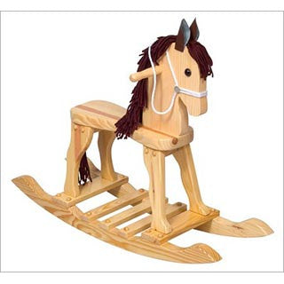 Natural Rocking Horse - Guidecraft - eBeanstalk