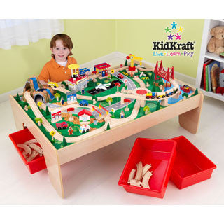 Waterfall Mountain Train Set & Table - Kid Kraft - eBeanstalk
