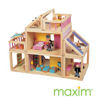 Design your own Doll House w Furniture - Maxim Enterprise - eBeanstalk