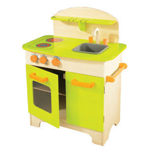 Gourmet Chef Kitchen Green - Hape - eBeanstalk