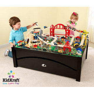 Metropolis Train Table & Set - Kid Kraft - eBeanstalk