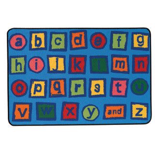 Alphabet Blocks Carpet - Carpets For Kids - eBeanstalk