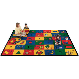 Blocks of Fun Carpet - Carpets For Kids - eBeanstalk