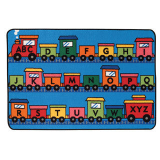 Alphabet Train Carpet - Carpets For Kids - eBeanstalk