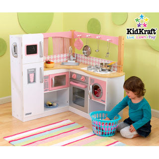 Grand Gourmet Corner Kitchen - Kid Kraft - eBeanstalk