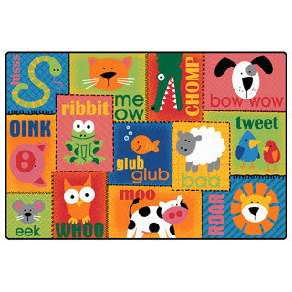 Animal Sounds Toddler Rug - Carpets For Kids - eBeanstalk