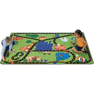 Crusin Around Town Play Carpet - Carpets For Kids - eBeanstalk