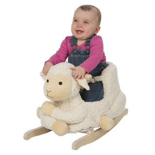 Soft Sheep Rocker - Alex - eBeanstalk