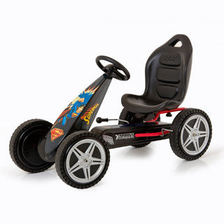 Superman Hurricane go Kart - Hauck - eBeanstalk