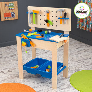 Deluxe Workbench - Kid Kraft - eBeanstalk