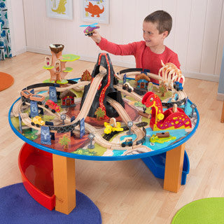 Dinosaur Train Set & Table - Kid Kraft - eBeanstalk
