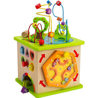 Country Critters Play Cube - Hape - eBeanstalk