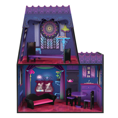 Spiderweb Villa Dollhouse with Furniture