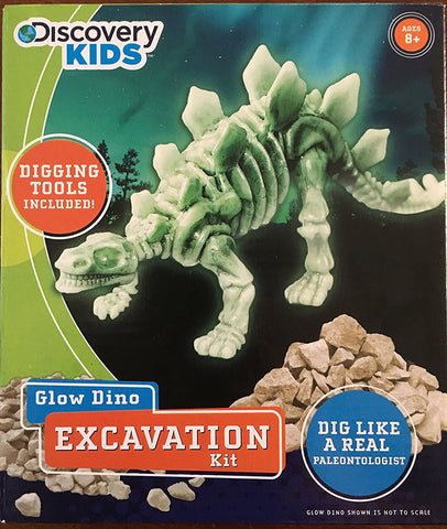 Discovery Kids Glow Dino Excavation Kit