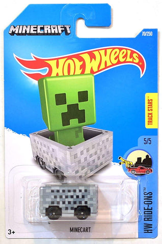 Hot Wheels Minecraft Zombie Minecart
