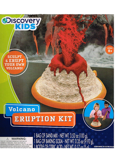 Discovery Kids Volcano Eruption Kit