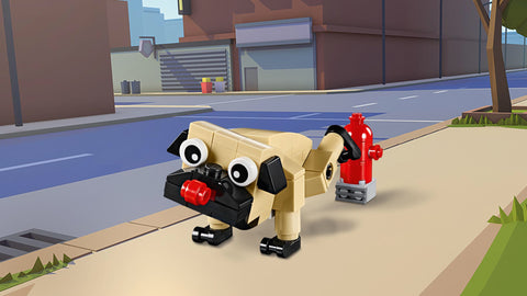 LEGO Cute Pug Turkey Koala Creator 3 in 1