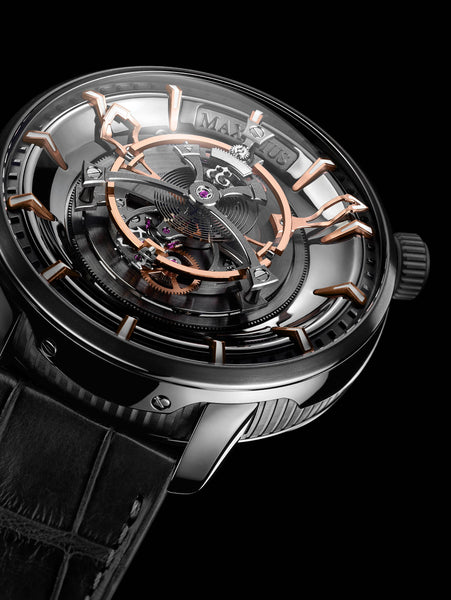 "KERBEDANZ - ""MAXIMUS"" - The largest Tourbillion wristwatch in the word"