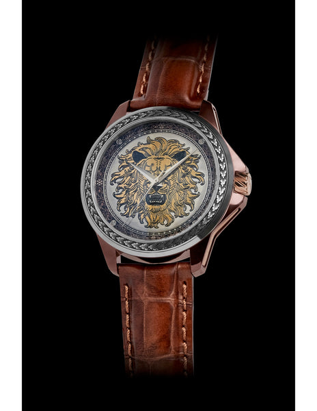 "ArtyA ""Son of Art"" Engraved Lion Bicolor"