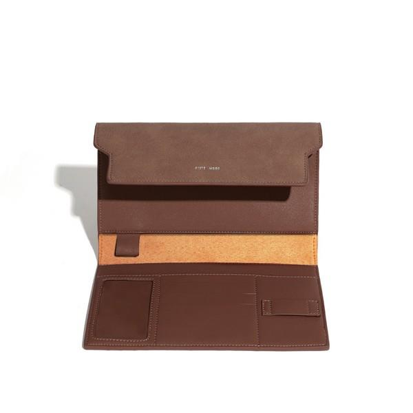 Dark Oak Bianca Travel Organizer | boogie + birdie