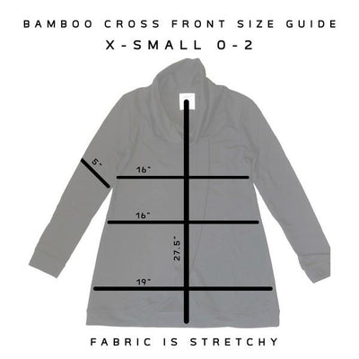 Green Gables Bamboo Cross Front Sweater | boogie + birdie