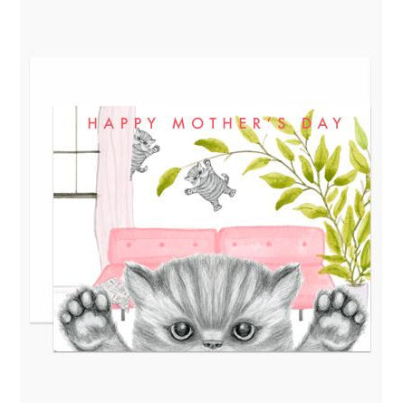 Naughty Kittens Mother's Day Card