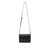 Black Gianna Crossbody with Strap A | boogie + birdie