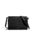 Black Nubuck Jane 2-in-1 Wallet Purse Front | boogie + birdie