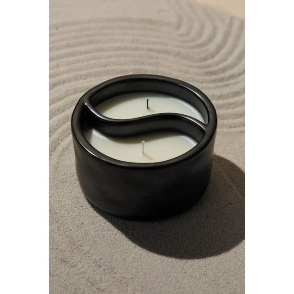 Palo Santo and Cade Yin + Yang Candle