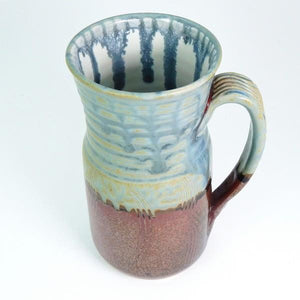 Blue Ash Extra Large Ceramic Mug | Top | boogie + birdie