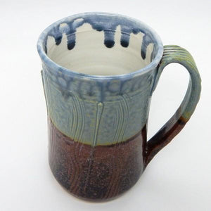 Blue Ash Large Ceramic Mug | Top | boogie + birdie