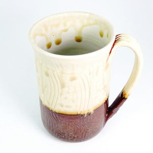 Cream Ash Large Ceramic Mug | Top | boogie + birdie