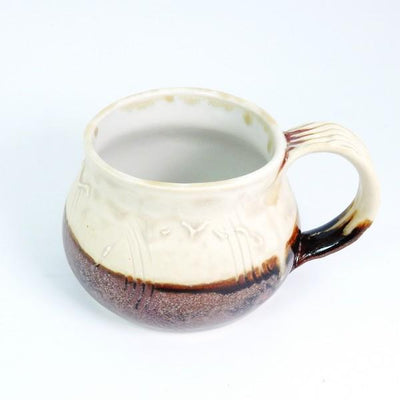 Cream Ash Demi Ceramic Mug | Top | boogie + birdie