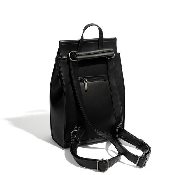 Black Kim Backpack Back | boogie + birdie