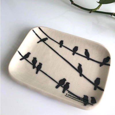 Murder of Crows Soap Dish | boogie + birdie