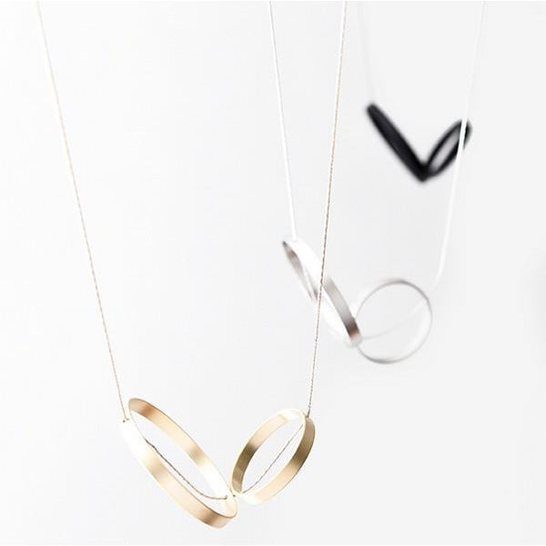 Gold Duet Necklace | boogie + birdie