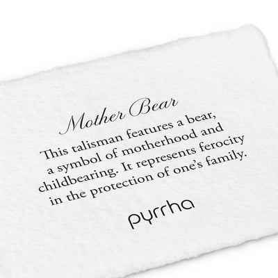 Mother Bear Meaning Card | boogie + birdie