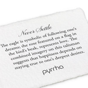 Never Settle Meaning Card | boogie + birdie