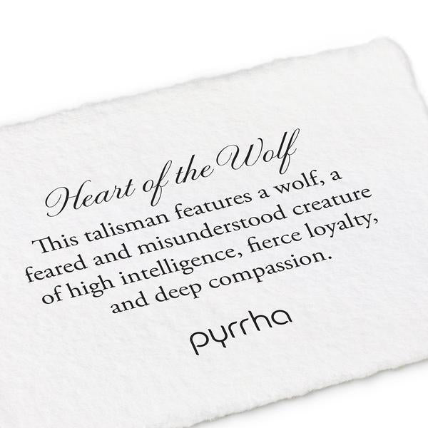 Heart of the Wolf Meaning Card | boogie + birdie