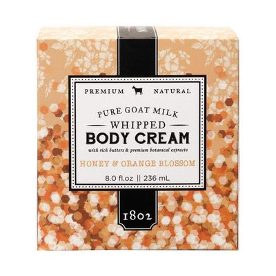 Honey + Orange Blossom Whipped Body Cream | boogie + birdie