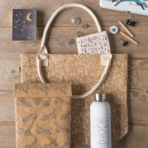 Adventure Awaits Papercraft Tote | boogie + birdie