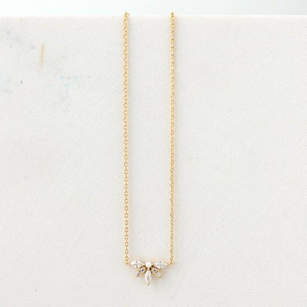 Harlowe Gold Necklace | boogie + birdie