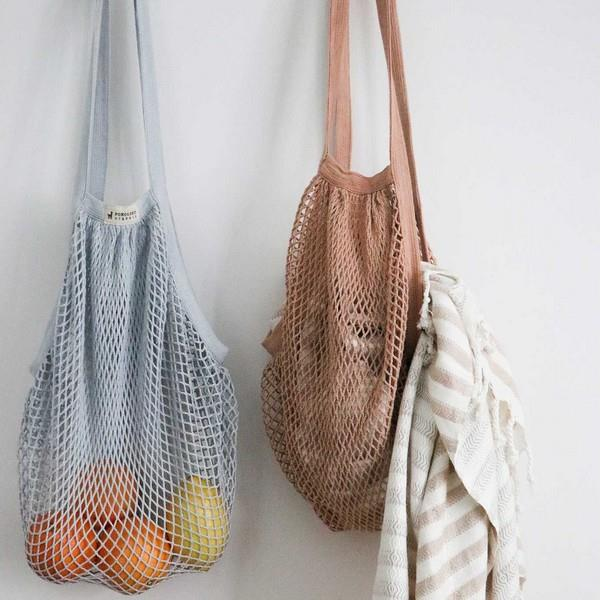 Tan Eco Net Bag | boogie + birdie