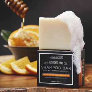 Honey & Orange Blossom Shampoo Bar | boogie + birdie