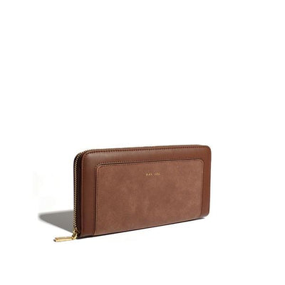 Dark Oak Emma Zip Around Wallet | boogie + birdie